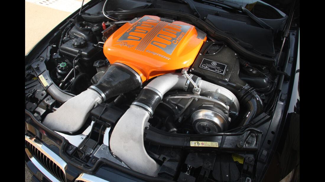 Highspeed-Test, Nardo, ams1511, 391km/h, G-Power BMW M3, Motor, Motorraum