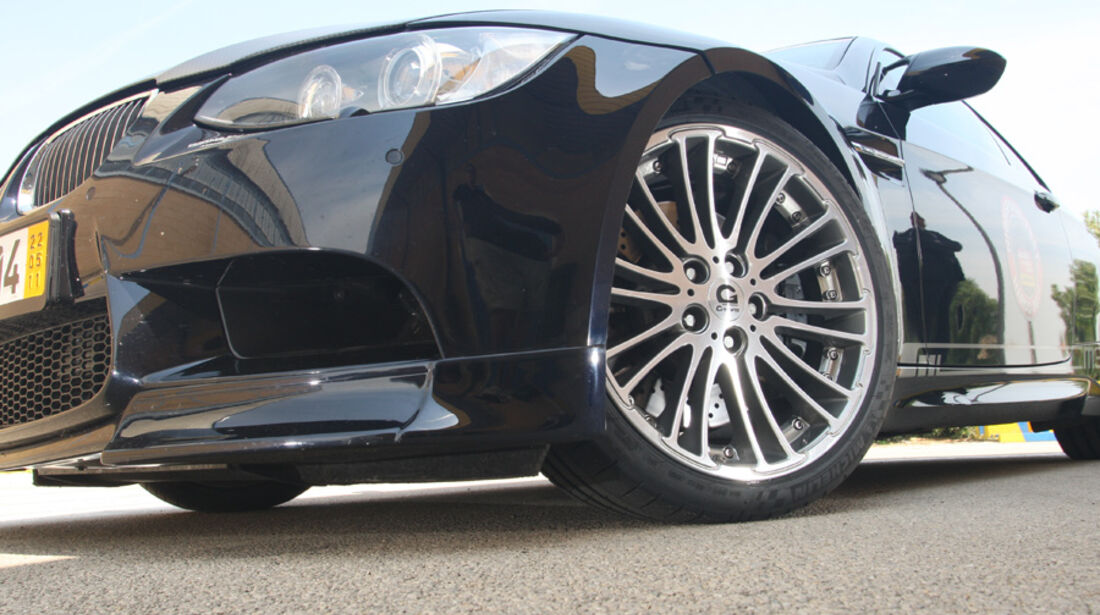 Highspeed-Test, Nardo, ams1511, 391km/h, G-Power BMW M3, Vorderrad, Felge