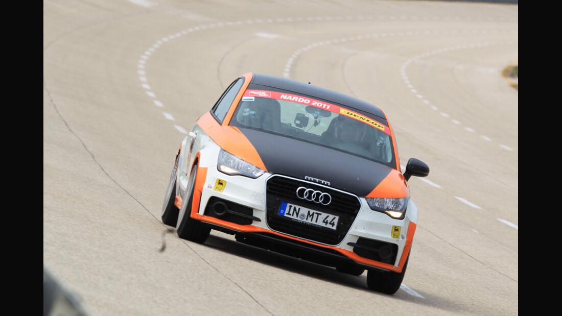 Highspeed-Test, Nardo, ams1511, 391km/h, MTM Audi A1, Frontansicht