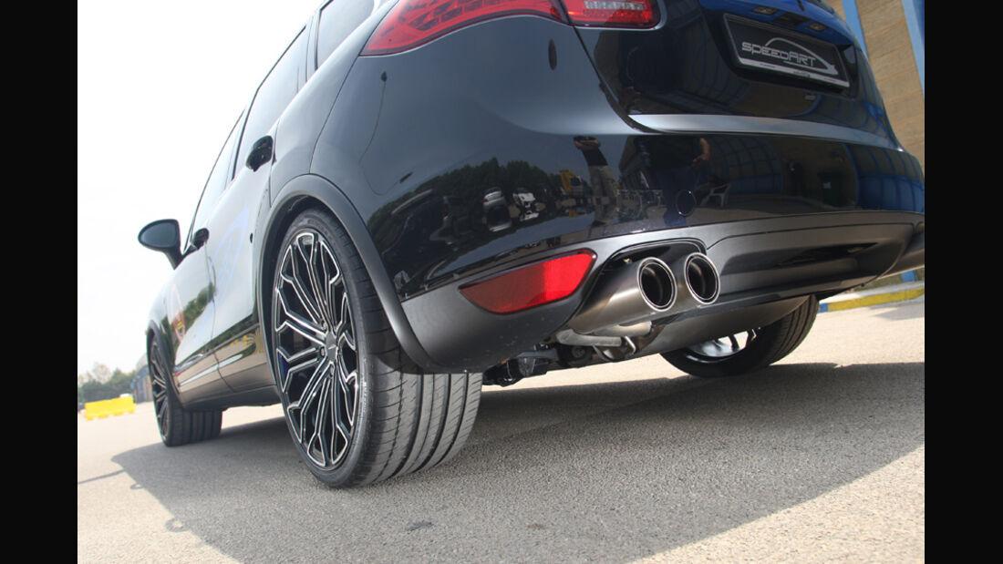 Highspeed-Test, Nardo, ams1511, 391km/h, MTM Audi A1, Motor, Motorraum
