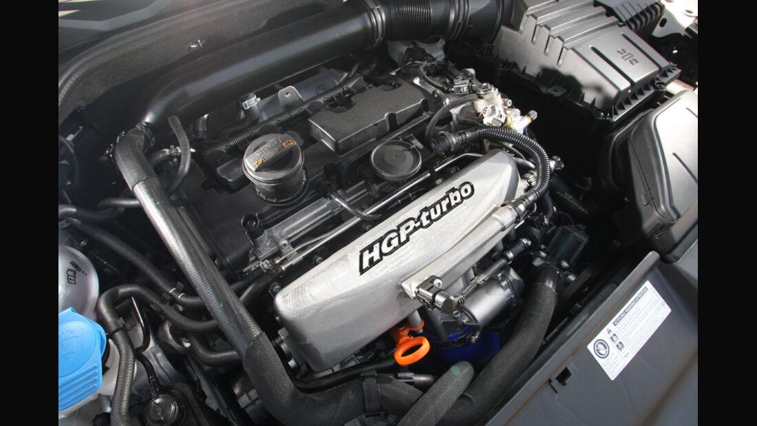 Highspeed-Test, Nardo, ams1511, 391km/h, Mathilda VW Scirocco R, Motor, Motorraum