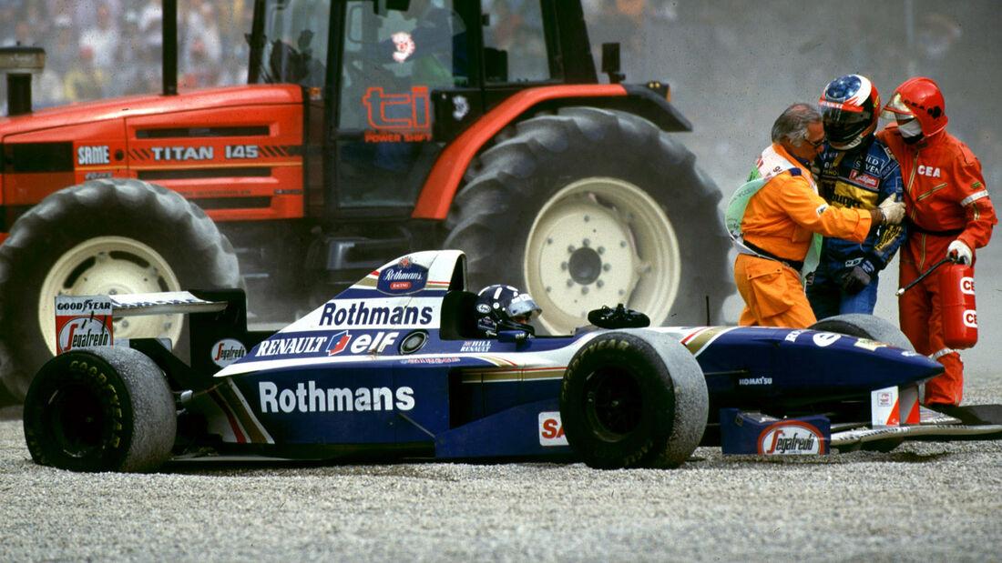 Hill & Schumacher - GP Italien - Monza - 1995