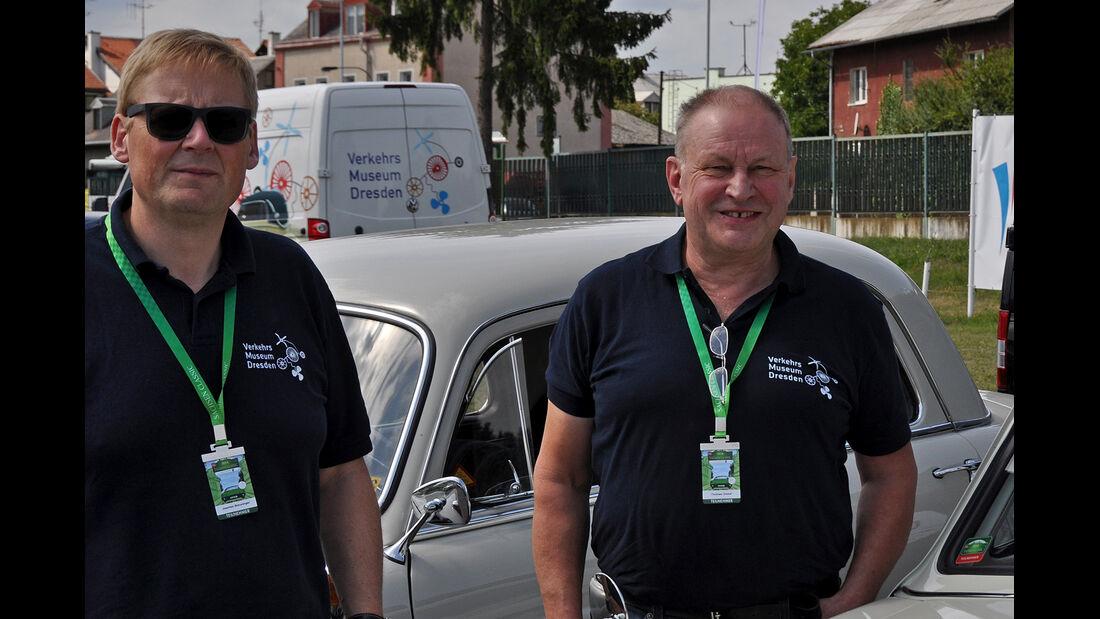 Hillman Minx und Singer Gazelle bei der Sachsen Classic 2014