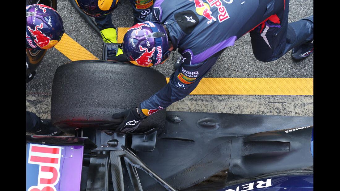 Hinterreifen Red Bull 2013