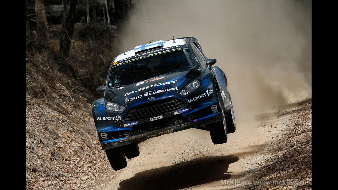 Hirvonen - Rallye Australien 2014