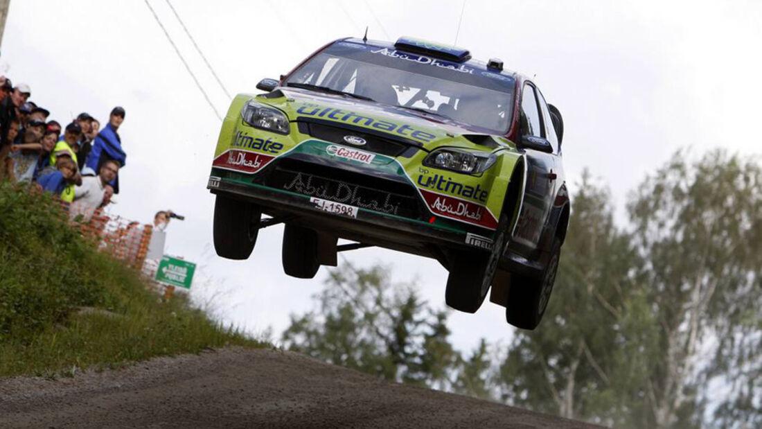 Hirvonen - Rallye Finnland