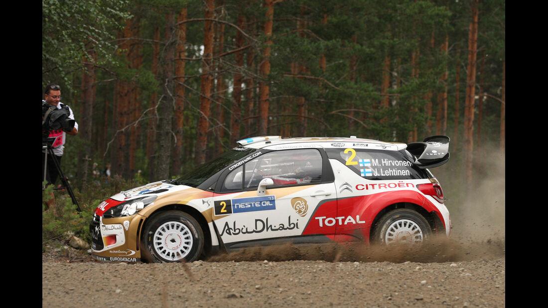 Hirvonen - Rallye Finnland 2013