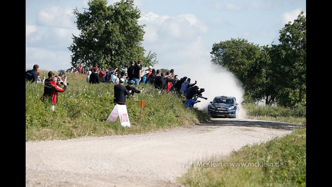 Hirvonen Rallye Polen 2014