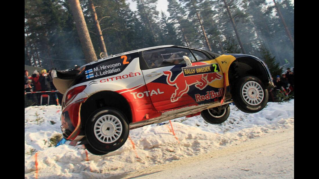 Hirvonen Rallye Schweden 2012 WRC