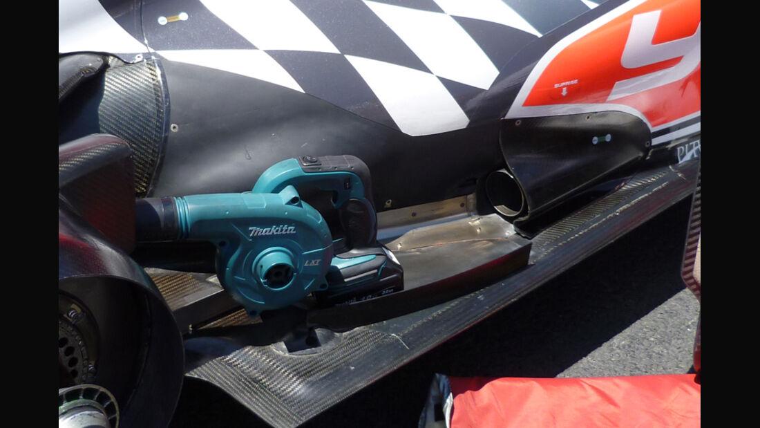 Hispania Auspuff GP Europa 2011