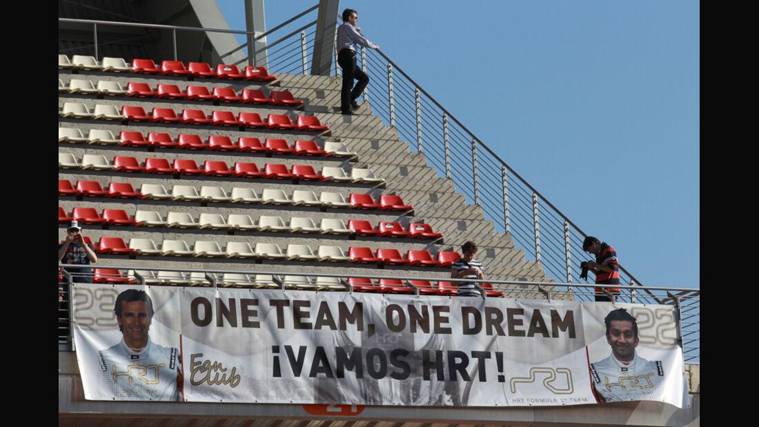 Hispania Fans Test Barcelona 2012
