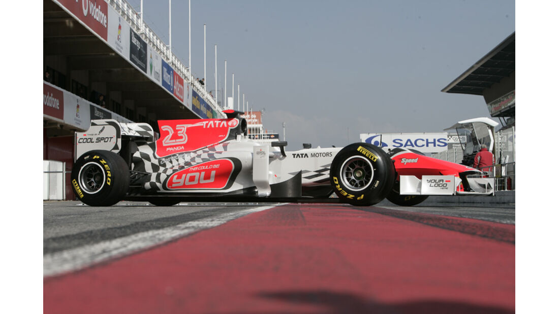 Hispania HRT F111