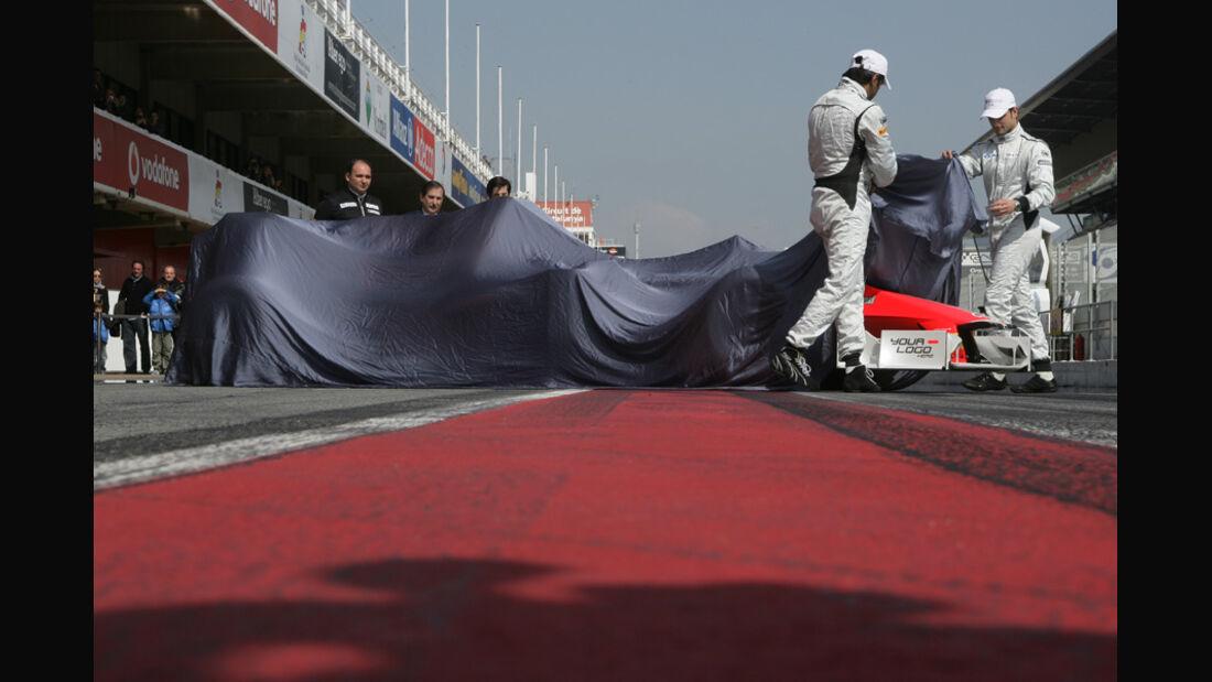 Hispania HRT F116