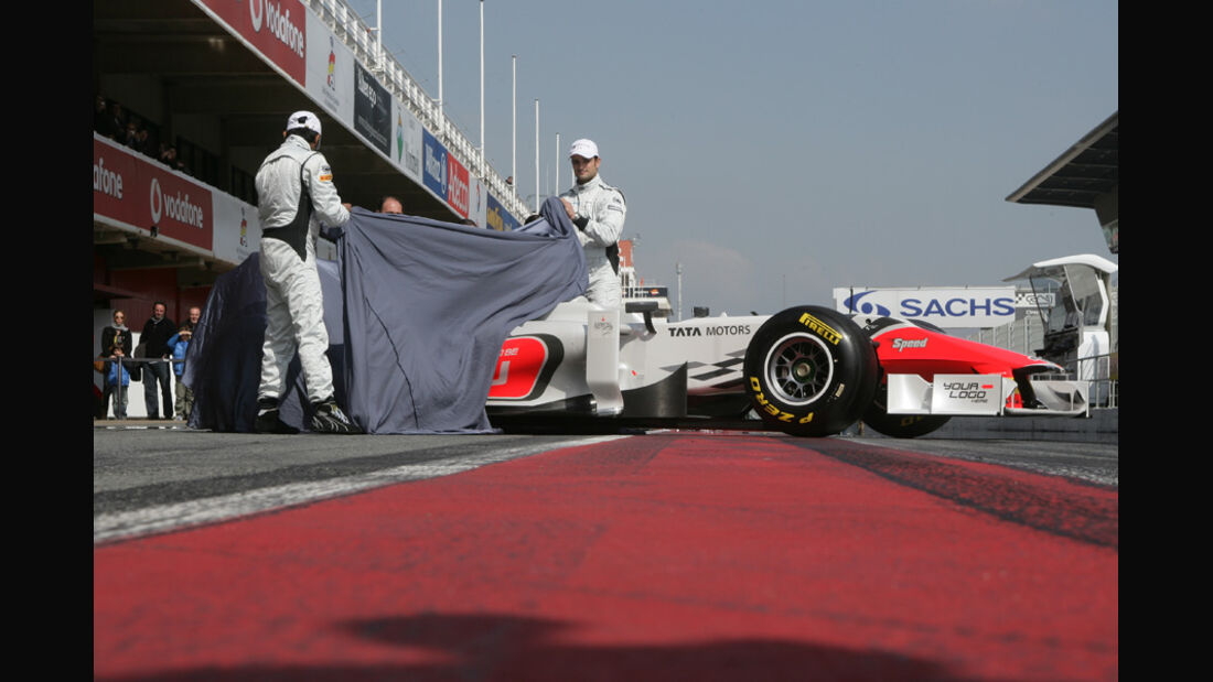 Hispania HRT F118