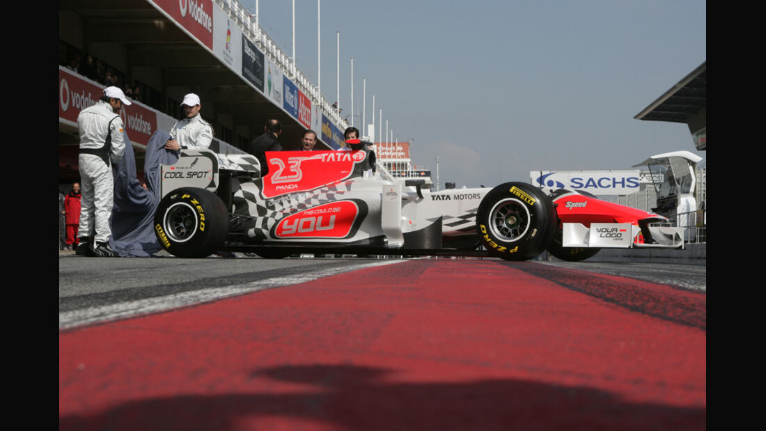 Hispania HRT F120