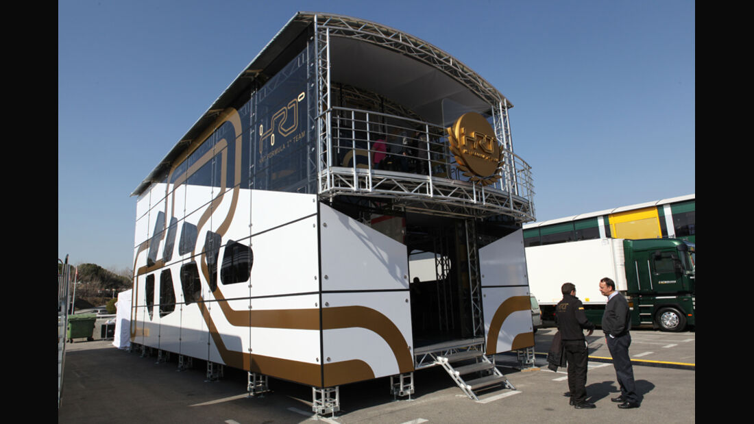 Hispania Motorhome Test Barcelona 2012