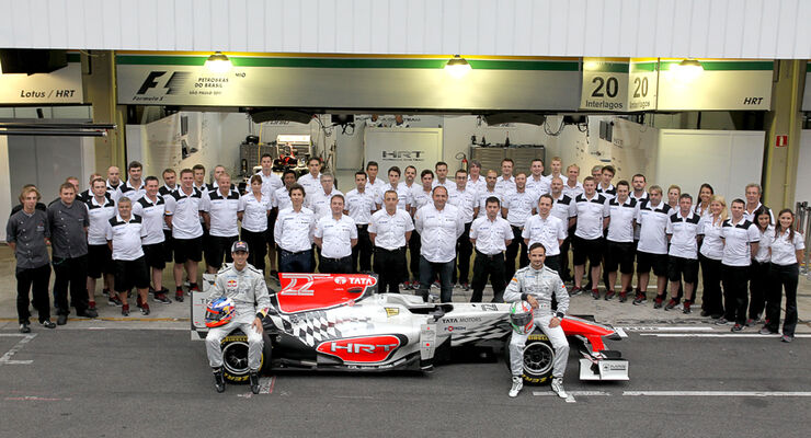 Hispania Teamfoto GP Brasilien 2011