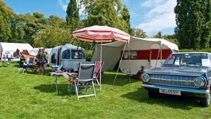 Historische Campingwagen