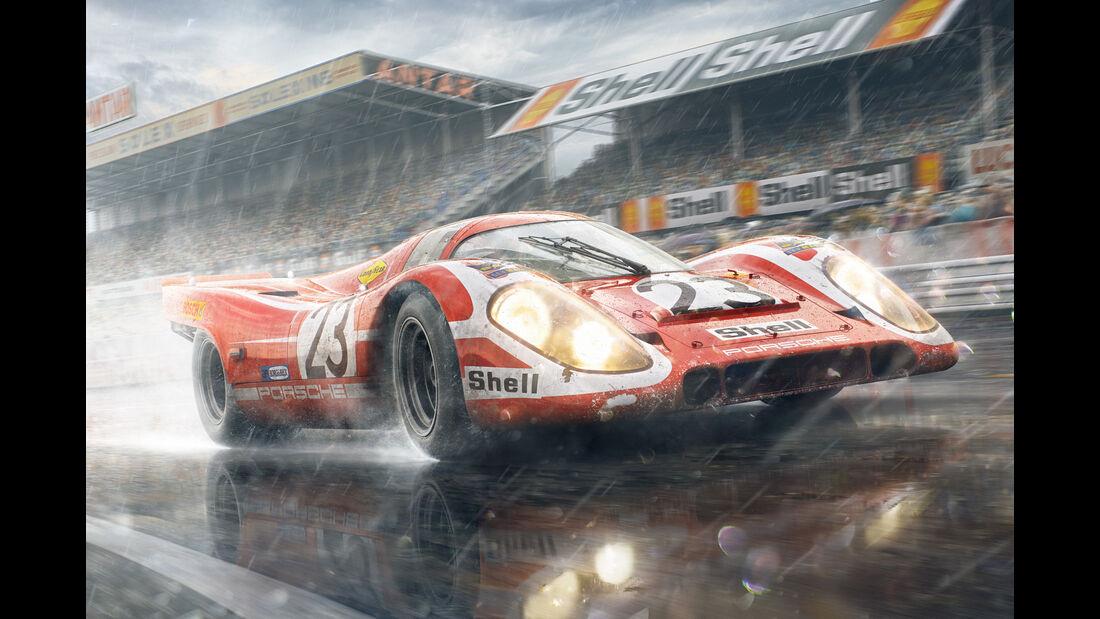 Historische Motorsport-Illustrationen - Unique & Limited - 2016