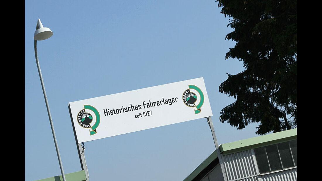 Historisches Fahrerlager