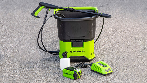 Hochdruckreiniger bis 110 bar, Greenworks