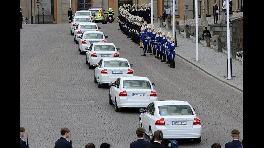 Hochzeit Schweden Volvo S80