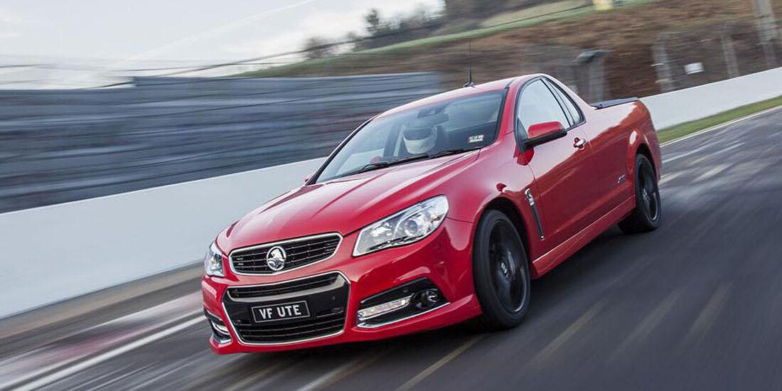 Holden VF SSV Ute Redline
