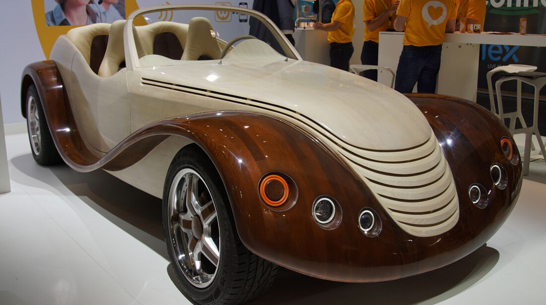 Holzauto IAA 2015