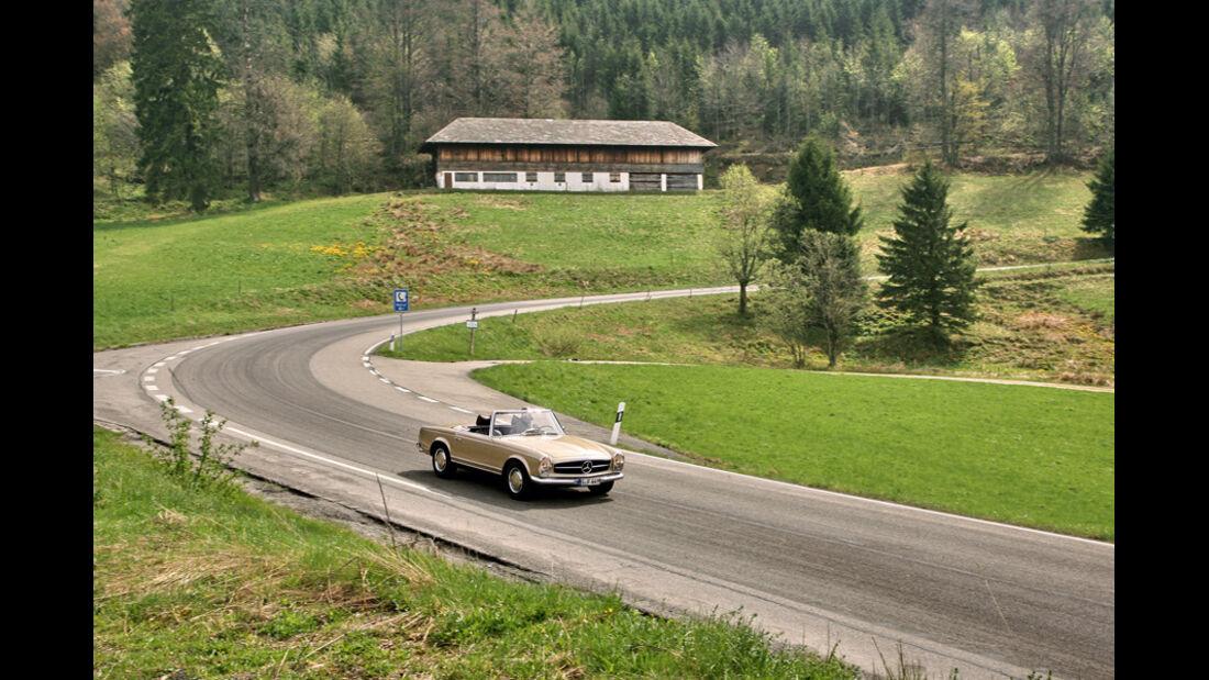 Holzschlägermatte, Mercedes 280 SL