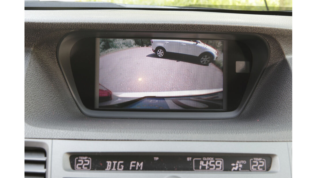 Honda Accord Tourer 2.2i-DTEC 180 Type S, Kamera