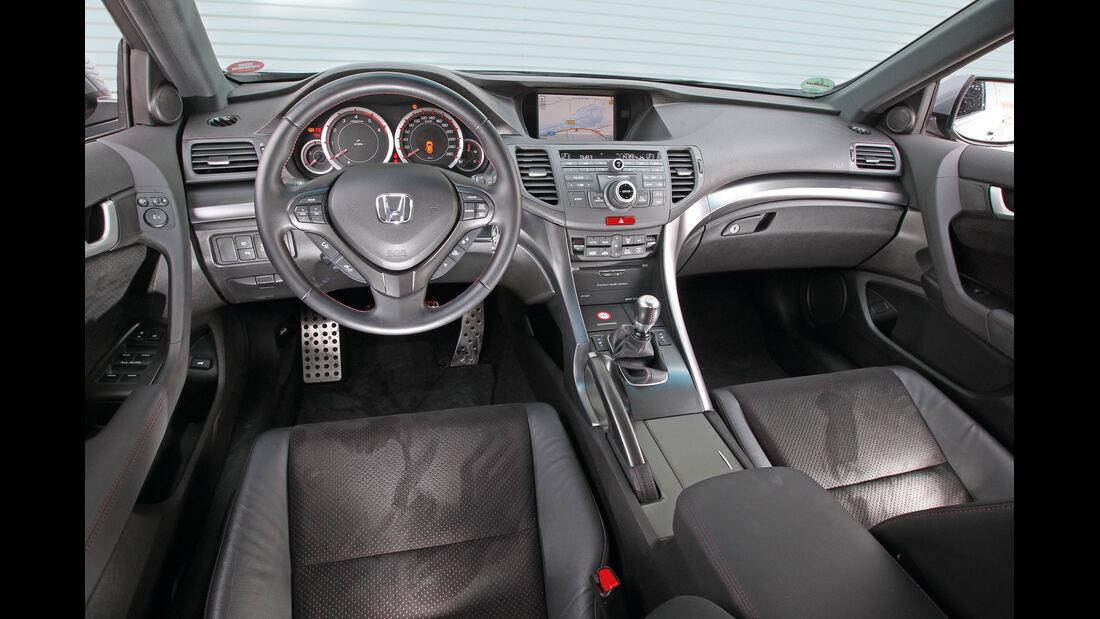 Honda Accord Tourer 2.2i-DTEC, Cockpit, Lenkrad