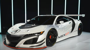 Honda Acura NSX GT3, Front