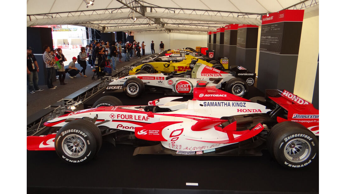 Honda-Ausstellung - Formel 1 - GP Japan - Suzuka - 4. Oktober 2012