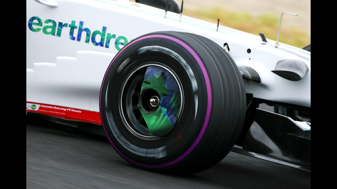 Honda - Bridgestone - Jerez-Test - 2008
