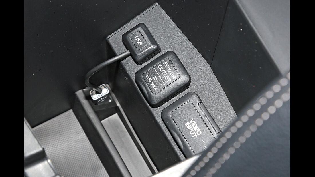Honda CR-V 1.6 i-DTEC 2WD, Anschlüsse