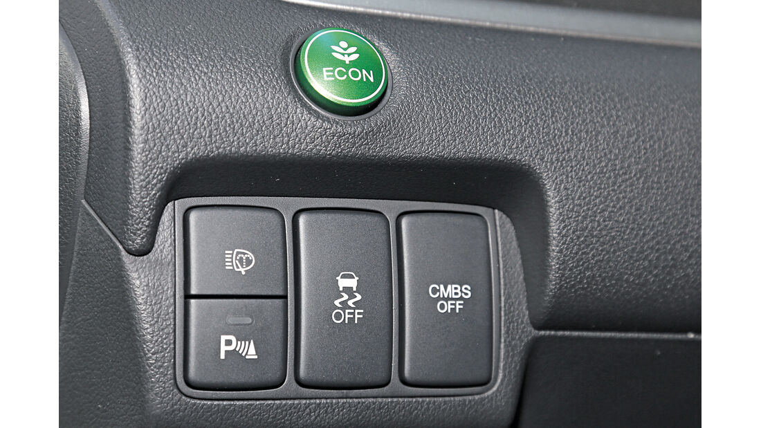 Honda CR-V 1.6 i-DTEC 2WD, Bedienelemente