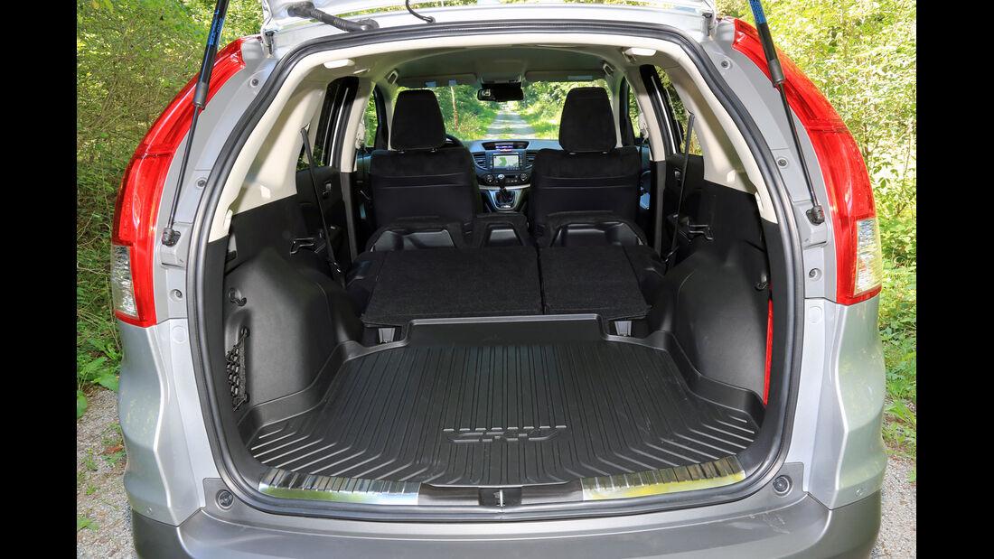 Honda CR-V 1.6 i-DTEC 2WD, Kofferraum, Ladefläche