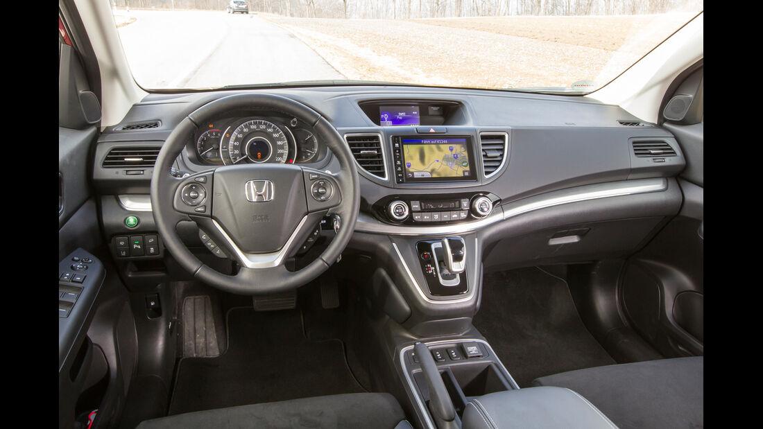 Honda CR-V 1.6 i-DTEC 4WD, Cockpit