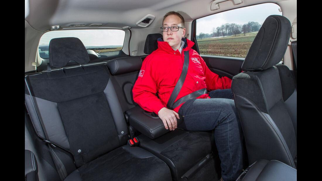 Honda CR-V 1.6 i-DTEC 4WD, Fondsitz