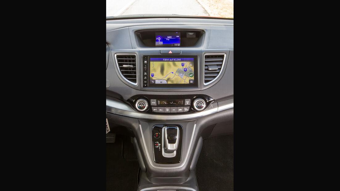 Honda CR-V 1.6 i-DTEC 4WD, Mittelkonsole