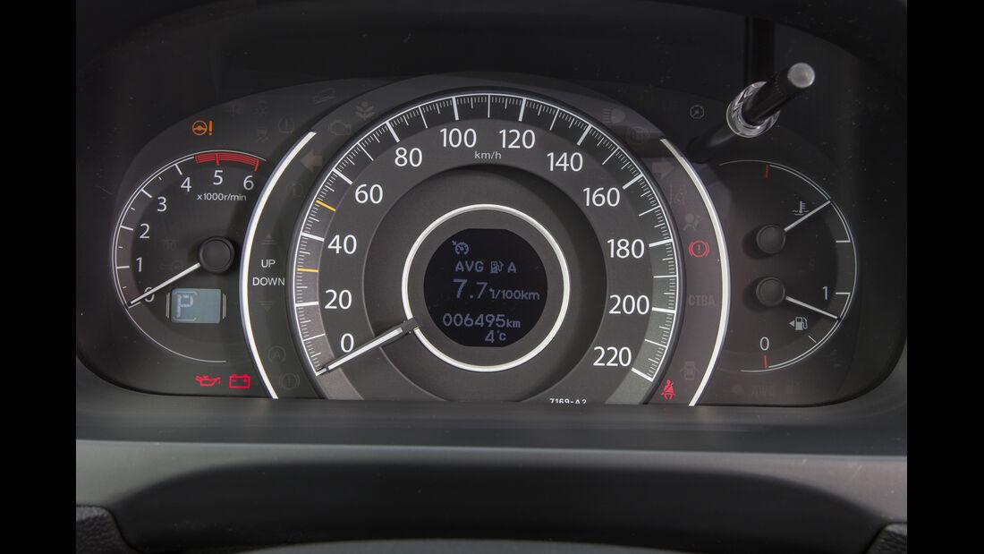 Honda CR-V 1.6 i-DTEC 4WD, Tacho, Rundinstrument