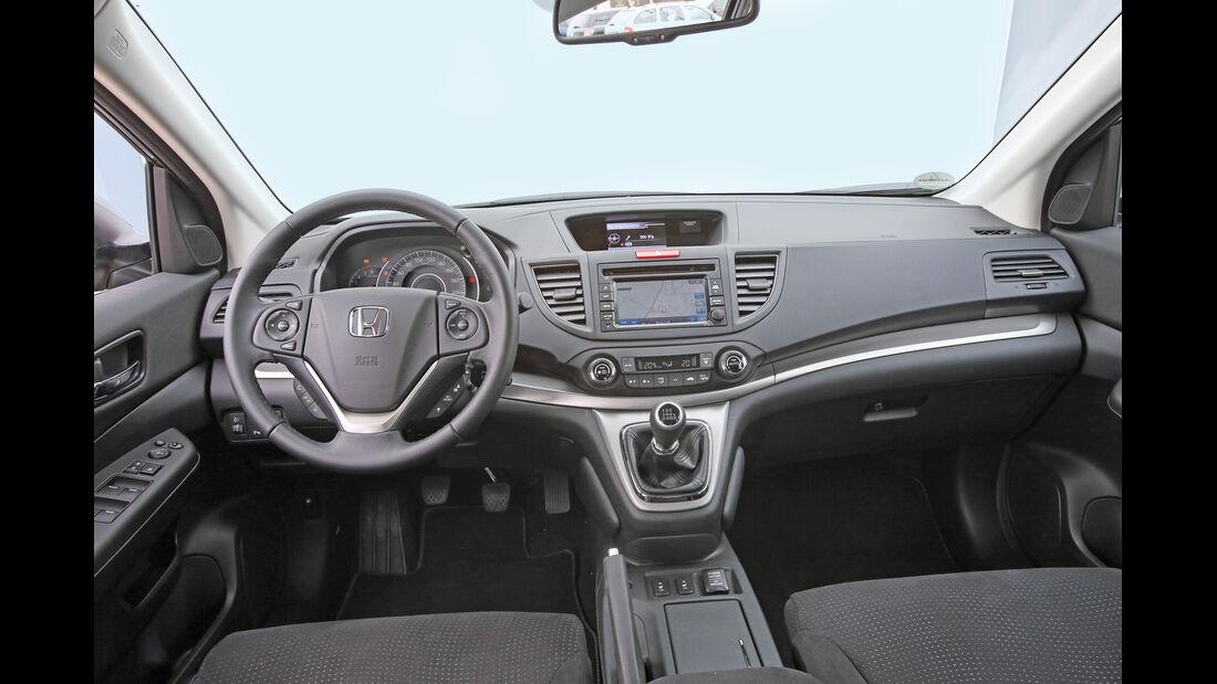 Honda CR-V 2.0 2WD Comfort, Cockpit, Lenkrad