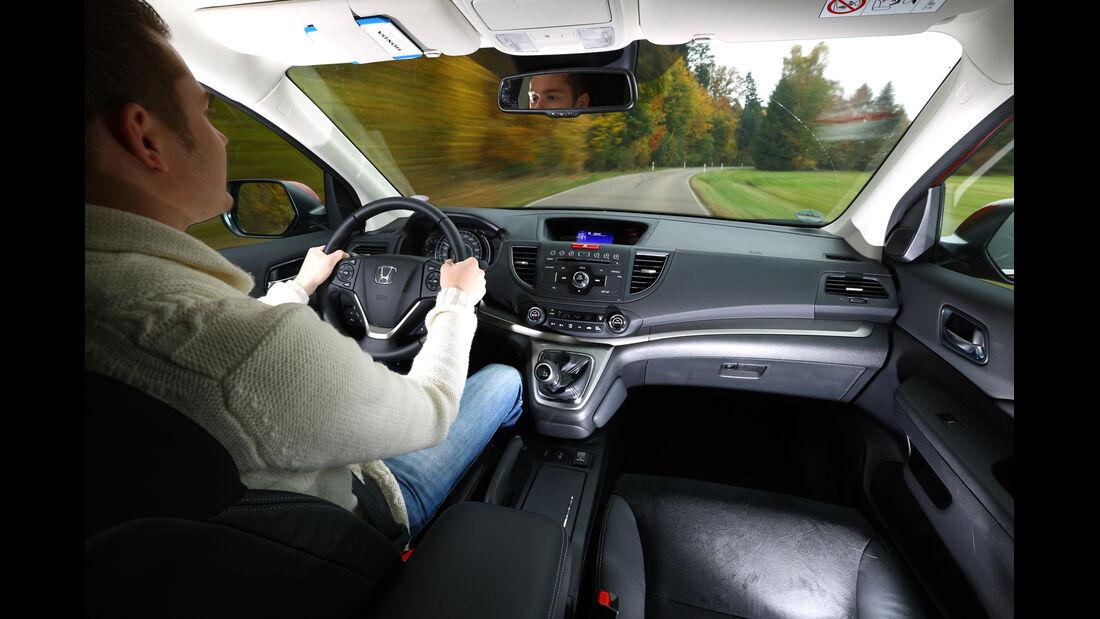 Honda CR-V 2.2 4WD Lifestyle, Cockpit, Lenkrad