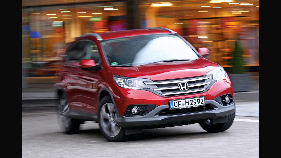Honda CR-V 2.2 4WD Lifestyle, Frontansicht