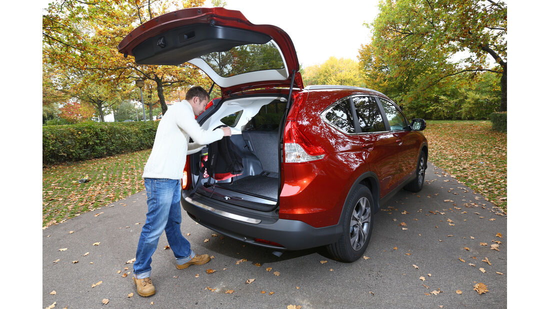 Honda CR-V 2.2 4WD Lifestyle, Heckklappe