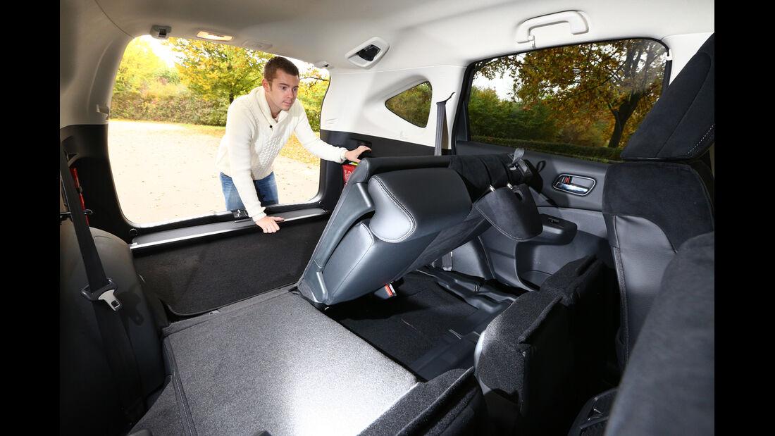 Honda CR-V 2.2 4WD Lifestyle, Sitze, Umklappen