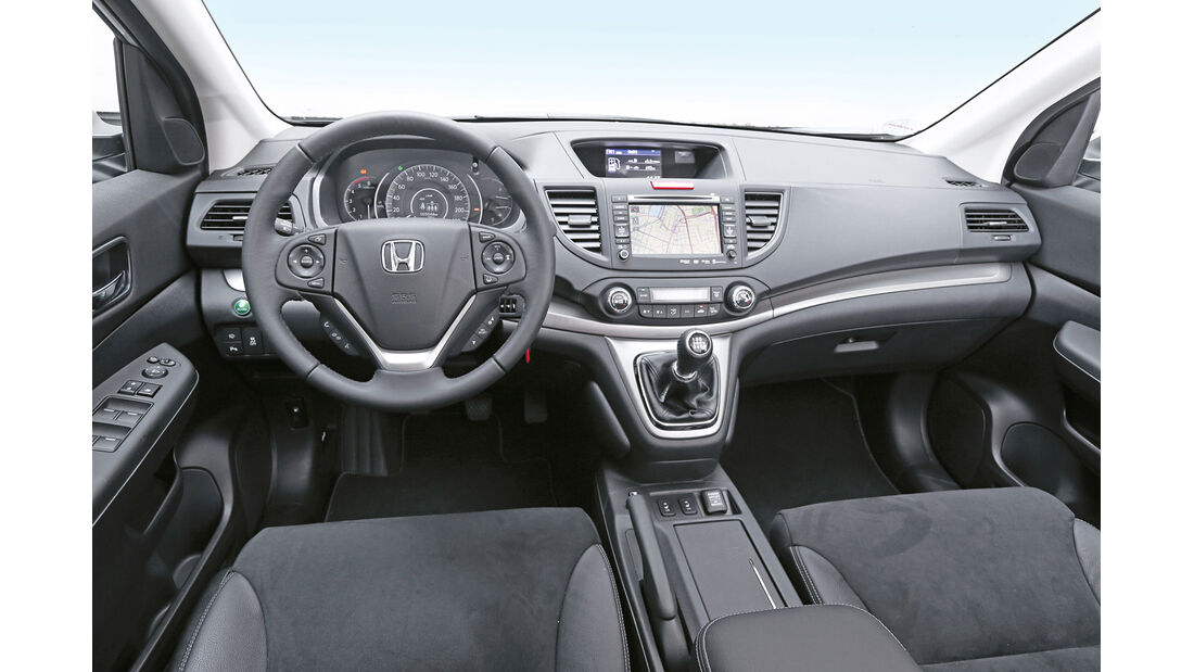 Honda CR-V 2.2 D 4WD Lifestyle, Cockpit