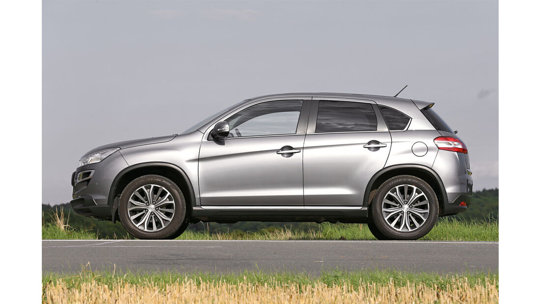Honda CR-V 2.2 D 4WD Lifestyle, Seitenansicht