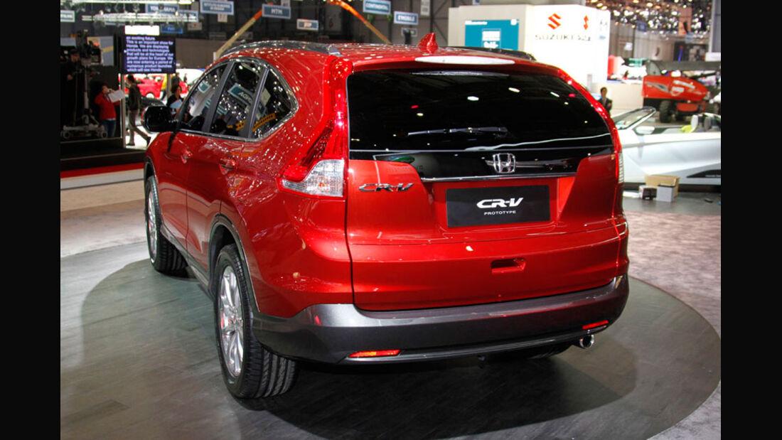 Honda CR-V, Autosalon Genf 2012