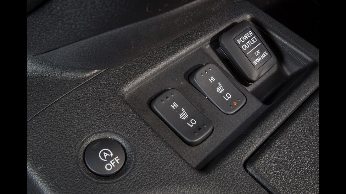 Honda CR-V, Bedienelemente, Tasten